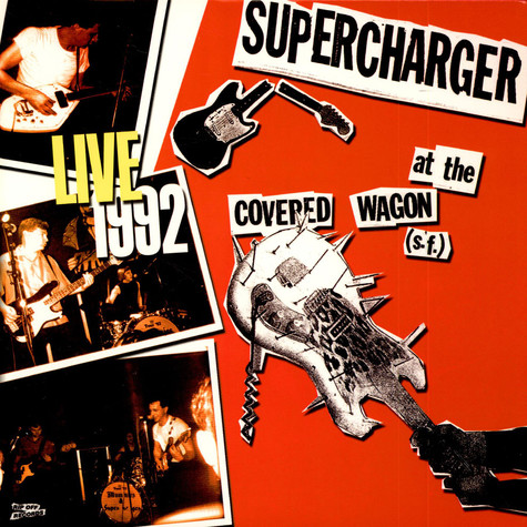 Supercharger - Live At The Covered Wagon (S.F.) 1992