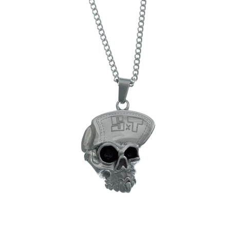 """Suicidal Tendencies - Stainless Steel Cyco Skull 24"""" Chain Necklace"""