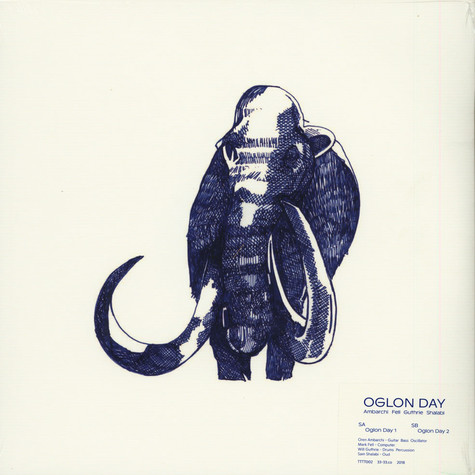 Oren Ambarchi,  Mark Fell & Will Guthrie - Oglon Day