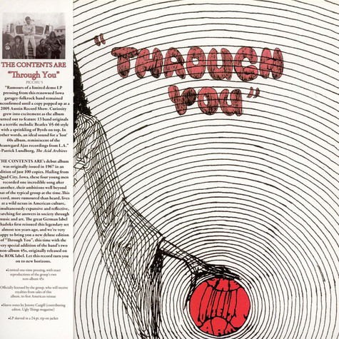 Contents Are, The - Through You