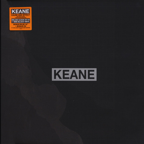 Keane - Cause And Effect Limited Super Deluxe Book Edition