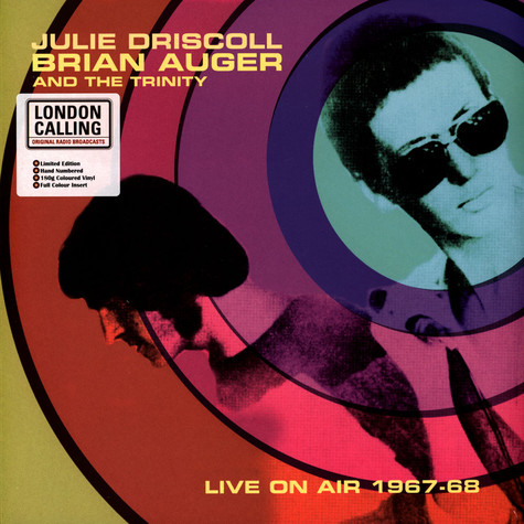 Julie Driscoll / Brian Auger And Trinity - Live On Air 1967-68