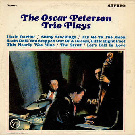 The Oscar Peterson Trio - The Oscar Peterson Trio Plays