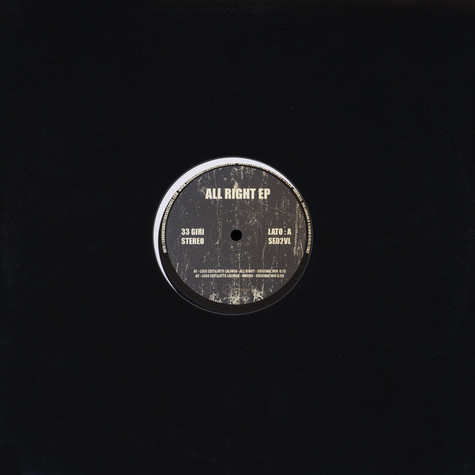 V.A. - All Right EP