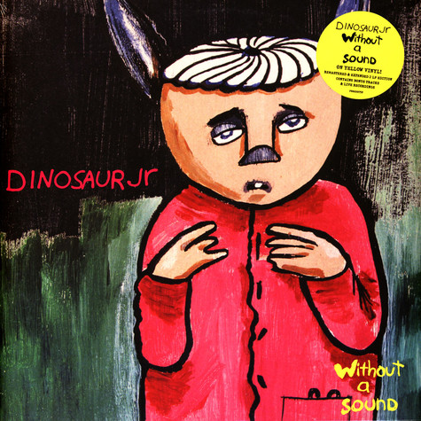 Dinosaur Jr. - Without A Sound Deluxe Expanded Gatefold Yellow Vinyl Edition