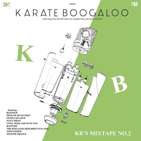 Karate Boogaloo - Kb's Mixtape No. 2