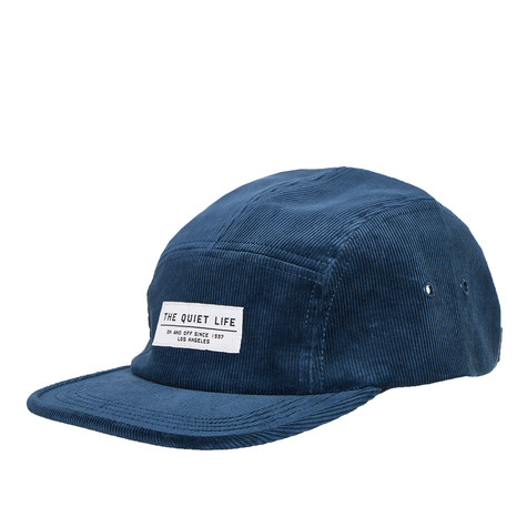 The Quiet Life - Cord 5 Panel Camper Hat