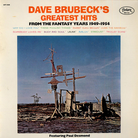 Dave Brubeck - Dave Brubeck's Greatest Hits (From The Fantasy Years 1949-1954)