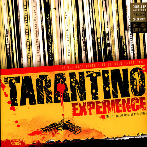 V.A. - The Tarantino Experience: The Ultimate Tribute To Quentin Tarantino Red & Yellow Vinyl Edition