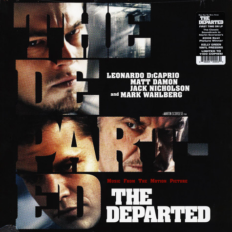 V.A. - OST The Departed Kelly Green Vinyl Edition