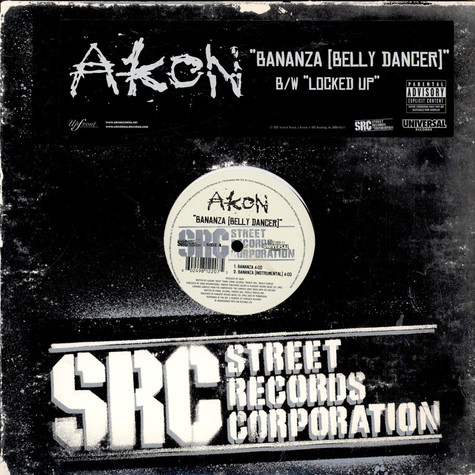 Akon - Bananza [Belly Dancer] / Locked Up