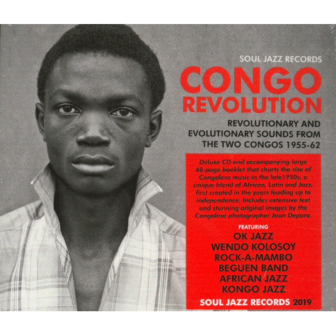 V.A. - Congo Revolution - Revolutionary And Evolutionary Sounds From The Two Congos 1955-62