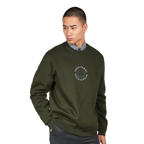 Fred Perry - Embroidered Sweat