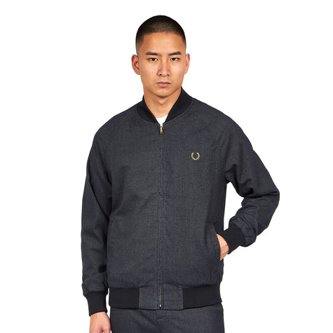 Fred Perry x Miles Kane - Houndstooth Bomber Jacket