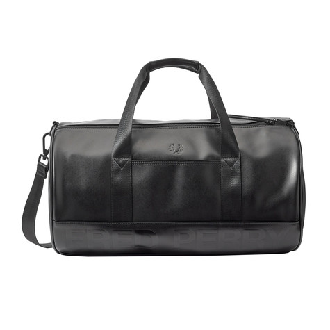 Fred Perry - Embossed PU Barrel Bag