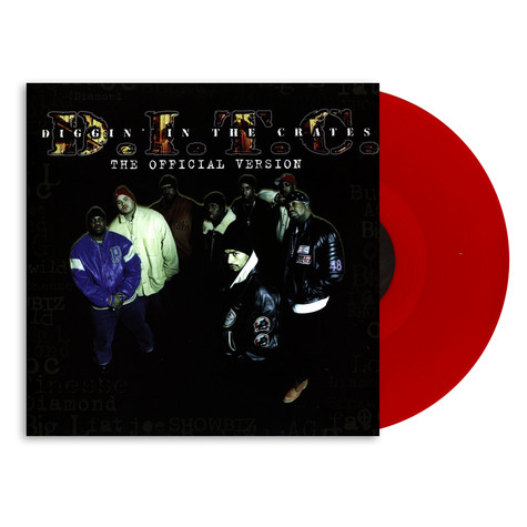 D.I.T.C. - The Official Version 20th Anniversary HHV Exclusive Red Vinyl Edition