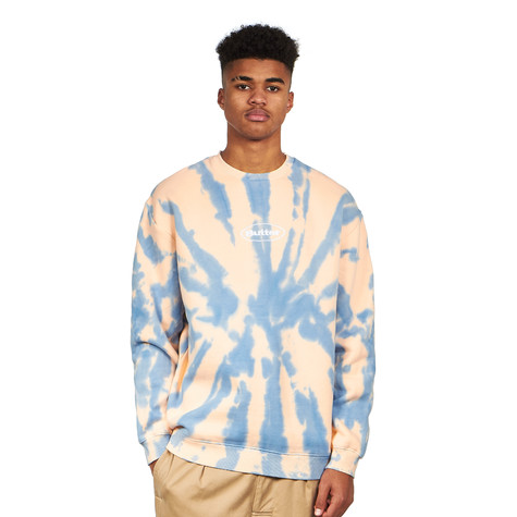 Butter Goods - Badge Tie Dye Crewneck