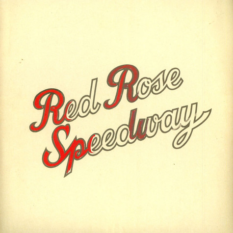 Paul McCartney & Wings - Red Rose Speedway Original Double Album