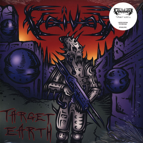 Voivod - Target Earth Picture Disc Edition