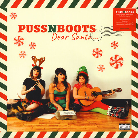 Puss N Boots / Norah Jones - Dear Santa
