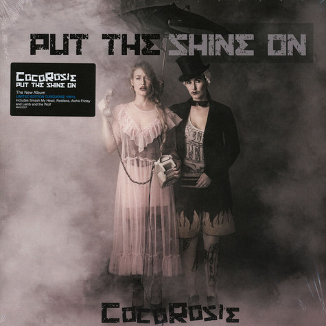 CocoRosie - Put The Shine On Turquoise Vinyl Edition