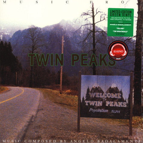 Angelo Badalamenti - OST Music From Twin Peaks Soundtrack Green Vinyl Edition