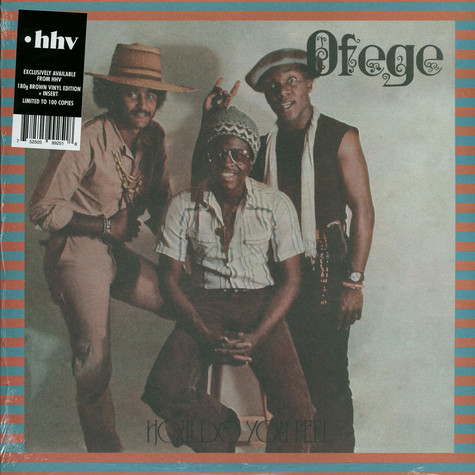 Ofege - How Do You Feel HHV Exclusive Brown Vinyl Edition