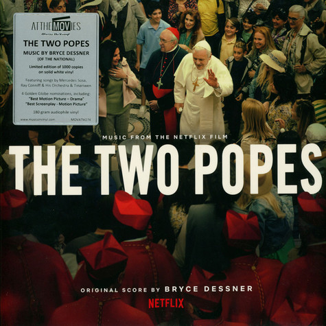 Bryce Dessner Of The National - OST The Two Popes Colored Vinyl Edition