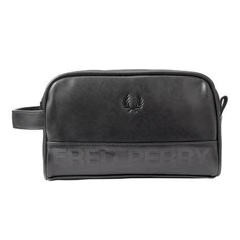 Fred Perry - Embossed PU Wash Bag