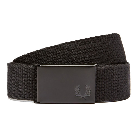 Fred Perry - Slim Graphic Webbing Belt