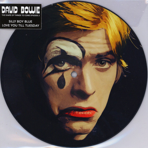 David Bowie - Silly Boy Blue Picture Disc Edition