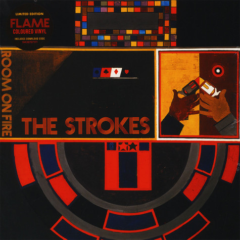 Strokes, The - Room On Fire Translucent Red Vinyl Edition