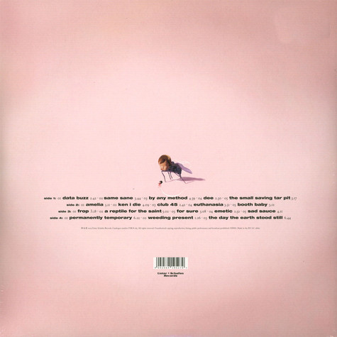 Blackmail - Bliss Please Limited Pink Vinyl Edition