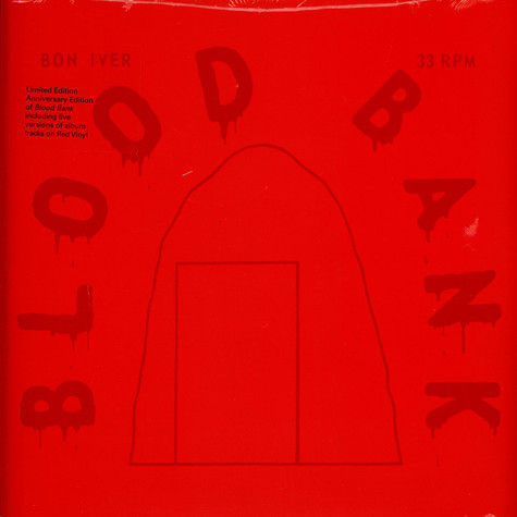 Bon Iver - Blood Bank EP 10th Anniversary Red Vinyl Edition