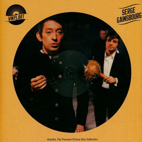 Serge Gainsbourg - Vinylart, The Premium Picture Disc Collection