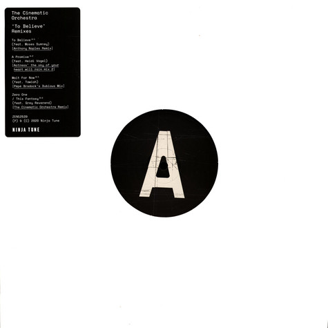 Cinematic Orchestra, The - To Believe - Remixes 2