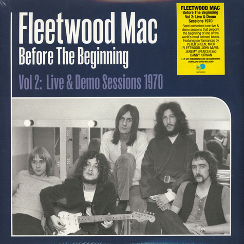 Fleetwood Mac - Before The Beginning Volume 2: Live & Demo Sessions 1