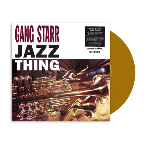 Gang Starr - Jazz Thing HHV Exclusive Gold Vinyl Edition