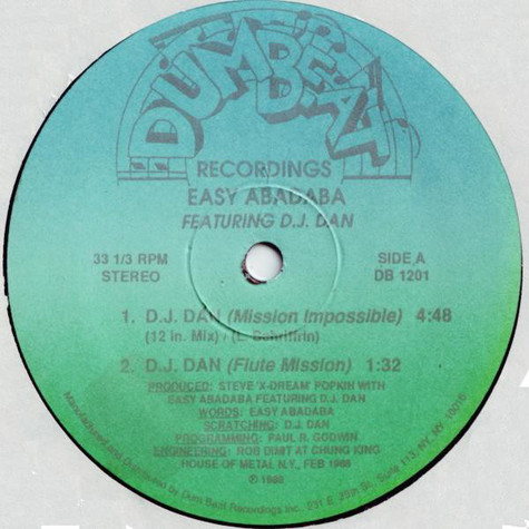 Easy Abadaba Featuring DJ Dan (3) - D.J. Dan (Mission Impossible)