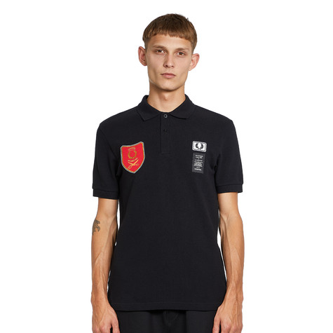 Fred Perry x Art Comes First - Shield Patch Polo Shirt