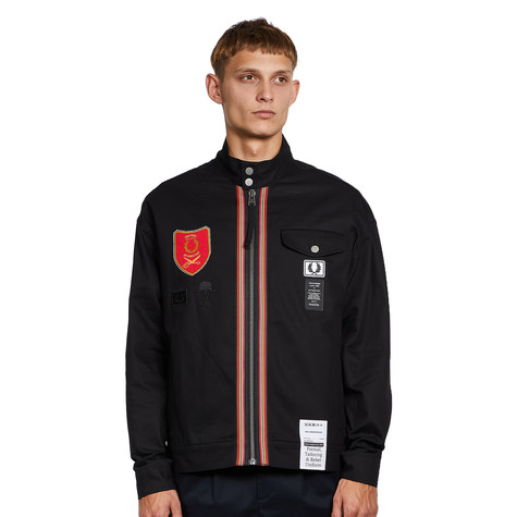 Fred Perry x Art Comes First - Shield Patch Harrington Jacket