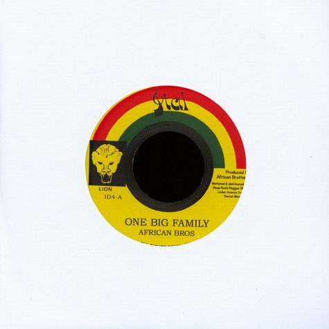 African Brothers - One Big Family / Version