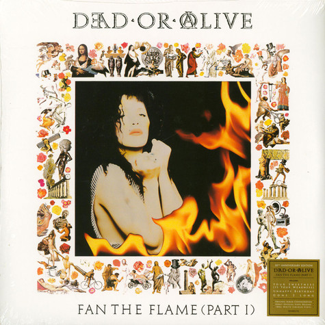 Dead Or Alive - Fan The Flame Part 1 White Vinyl Edition