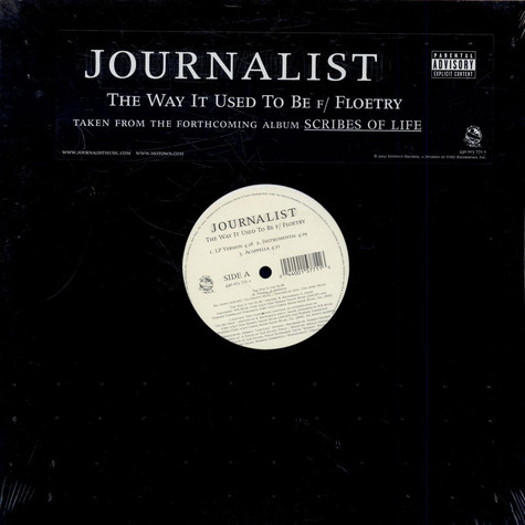 Journalist - The Way It Used To Be