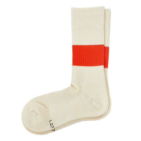 "RoToTo - Classic Crew Socks ""Silk Cotton"""