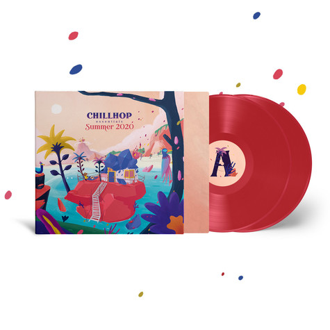 V.A. - Chillhop Essentials Summer 2020 Red Vinyl Edition