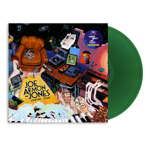 Joe Armon-Jones - Starting Today HHV Exclusive Green Vinyl Edition