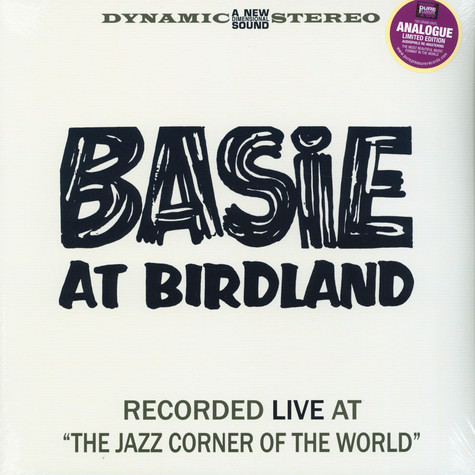 Count Basie - Basie In Birdland