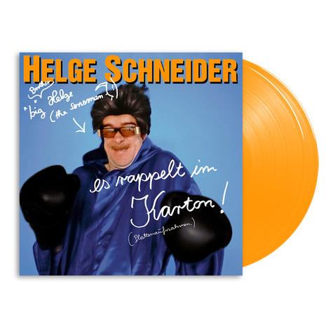 Helge Schneider - Es Rappelt Im Karton HHV Exclusive Orange Vinyl Edition