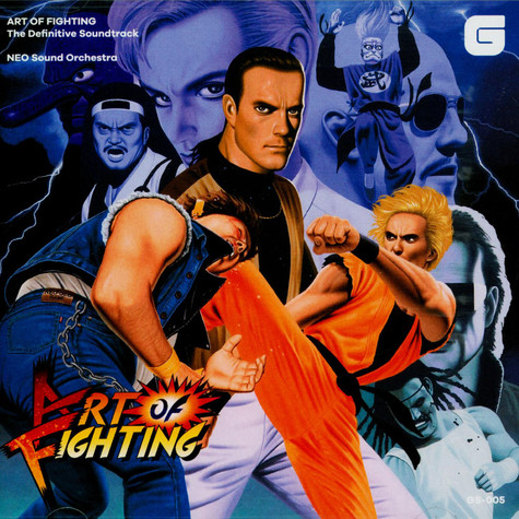 SNK Neo Sound Orchestra - OST Art Of Fighting - The Definitive Soundtrack